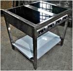 Индукционная плита ИП-4-800х700х850-12,0