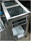 Индукционная плита ИП-2-400х700х850-6,0