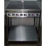 Индукционная плита ИП-4-800х700х850-8,0